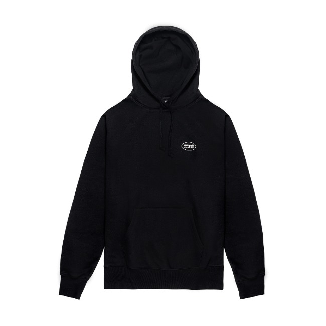 [컴팩트 레코드 바]KOMPAKT RECORD BAR_Original Logo Hoodie - Black/White