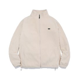 [예일]YALE_WARM UP FLEECE TRACK JACKET IVORY