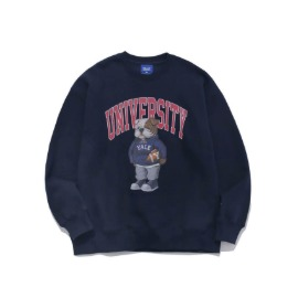 [예일]YALE_UNIVERSITY HANDSOME DAN CREWNECK NAVY